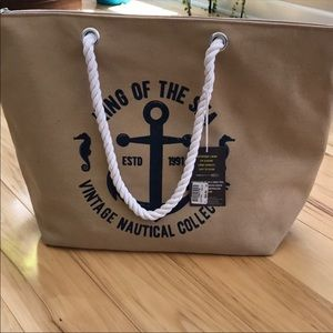 Handbags - Beach bag / cooler combo.  NWT